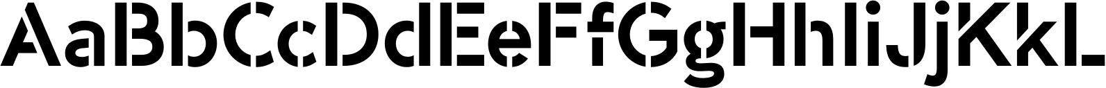 -OC Format Stencil