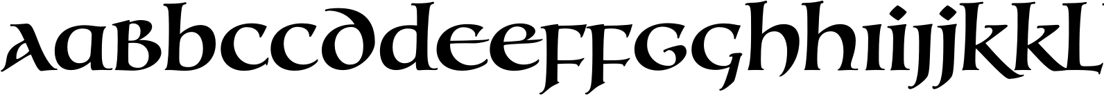 Testament I Medium Font
