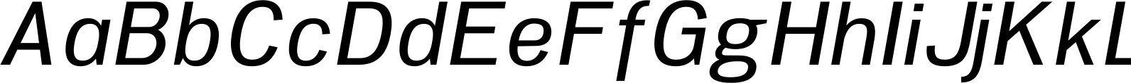 Woolworth Medium Italic Font