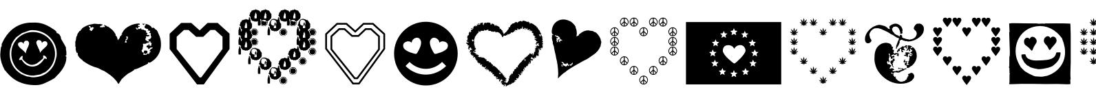 Hearts Love Smile