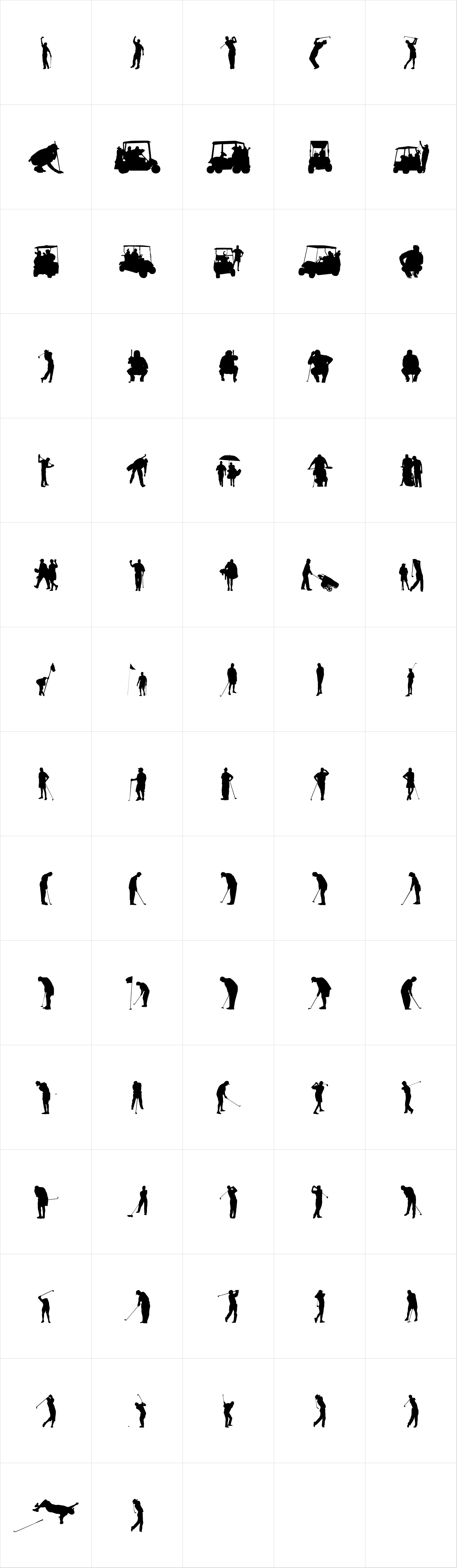 Palm Icons OT Golfers