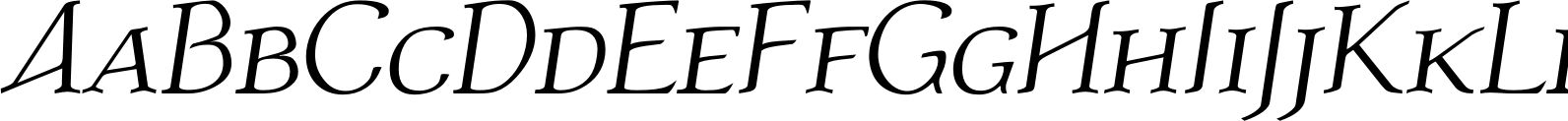 Atlantic Serif SC Regular Italic