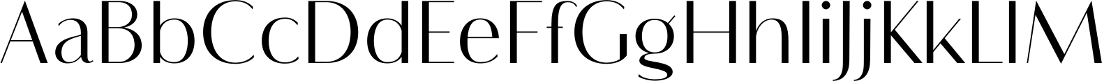 Flatline Sans