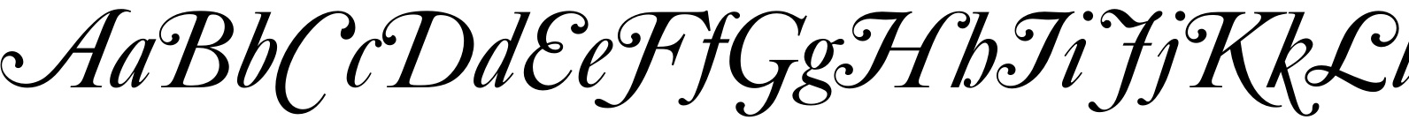 Caslon No540 Swash D Regular Italic