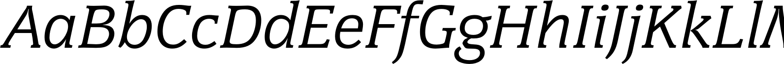 Congress Regular Italic