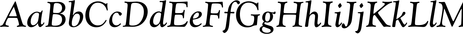 Goudy Catalogue Regular Italic Font