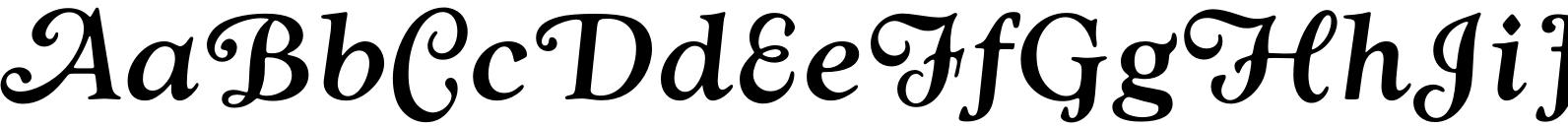 Goudy Swash Medium Italic