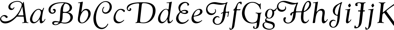 Goudy Swash Regular Italic Font