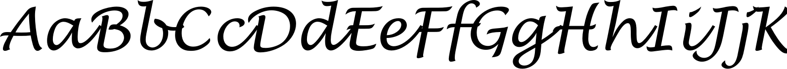 Lucida Handwriting Regular Italic