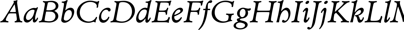 Minister Book Italic Font