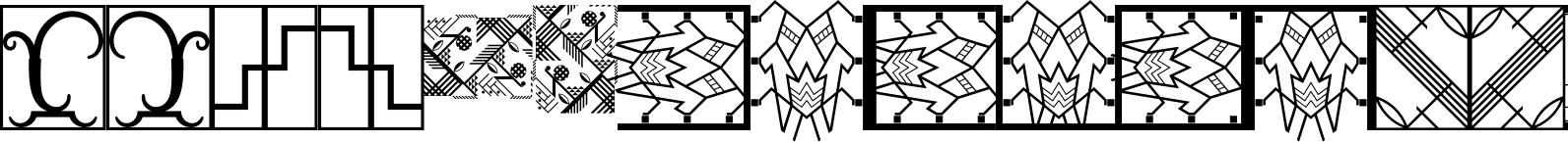 Ornamental Deco 2D