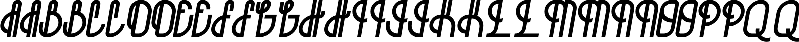 Bohema Regular Italic Alternative