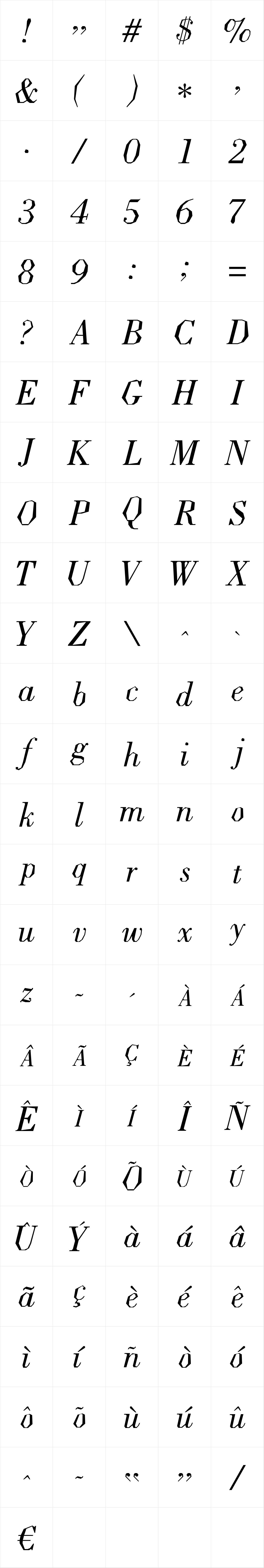 Ladoni Italic