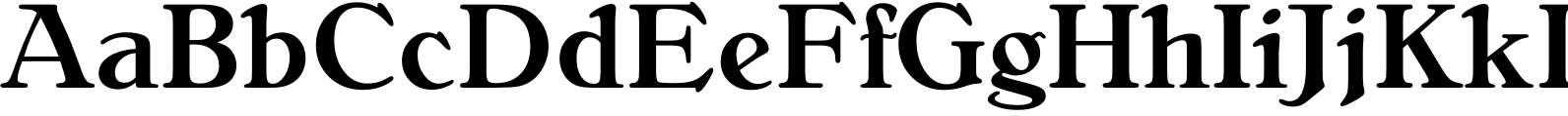 BelliniRR Medium Font