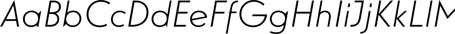 Guildford Pro Light Italic Font