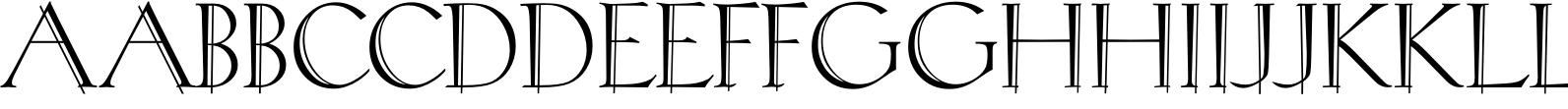 Rivoli Initials