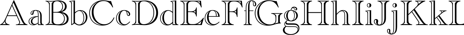 Academy Engraved LET Font