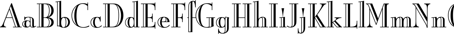 Burlington LET Font