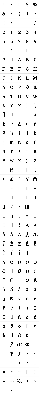 Caxton Roman Bold LET