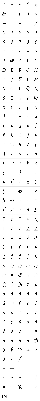 Figural Book Italic LET