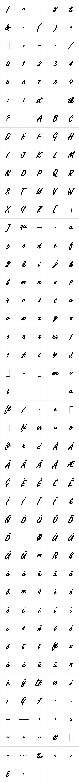 Freestyle Script Bold LET