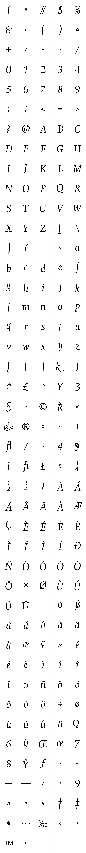 Gilgamesh Book Italic LET