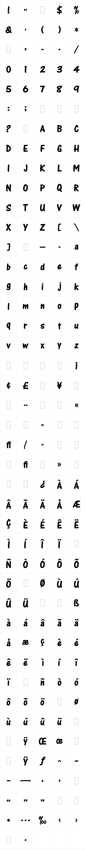One Stroke Script Bold LET