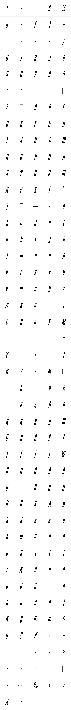 Robotik Italic LET