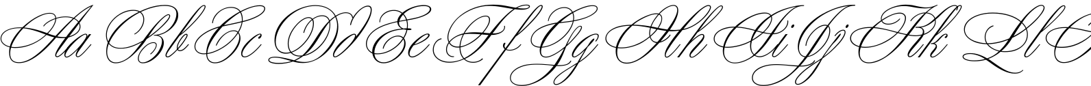 Young Baroque LET Font