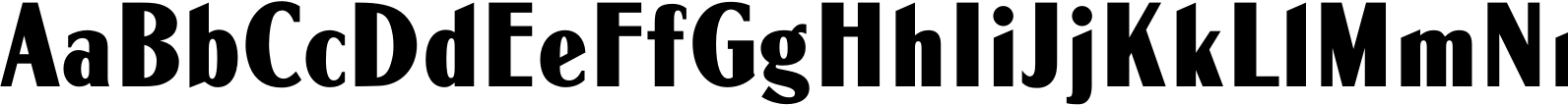 Globe Gothic MN Condensed Bold Font