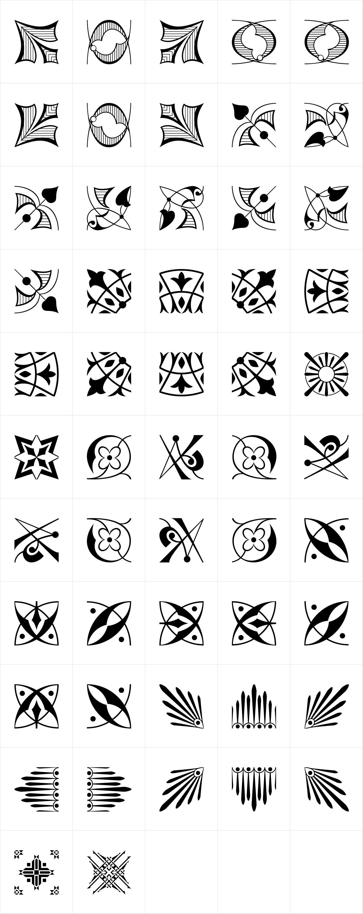 Polytype Dumas II Frames