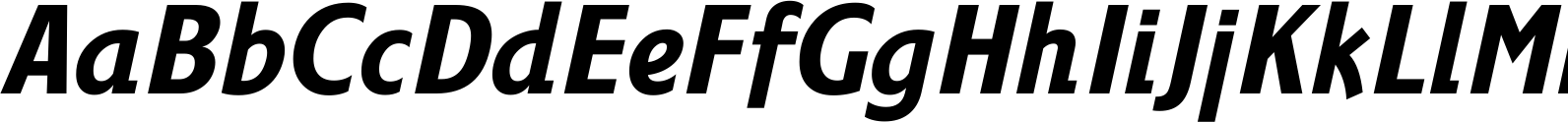 Fairway Medium Italic Font