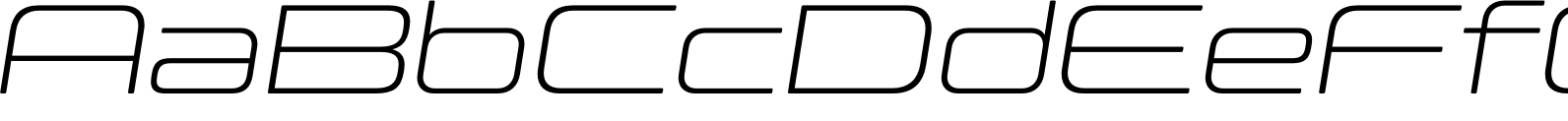 Controller Ext One Oblique Font