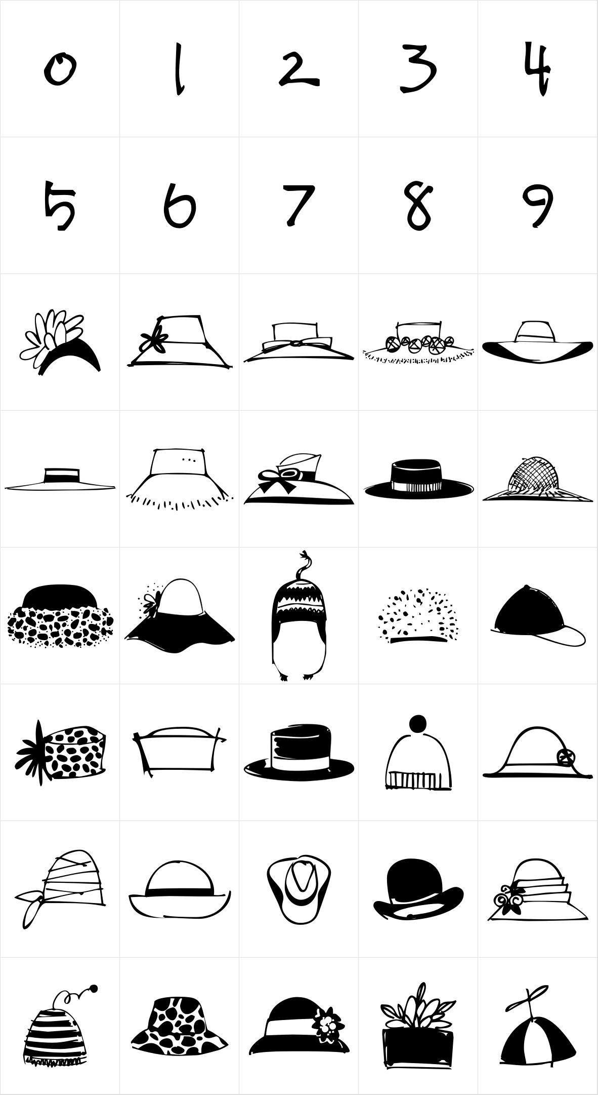Hat Doodles