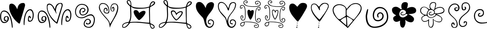 Hearts & Swirls
