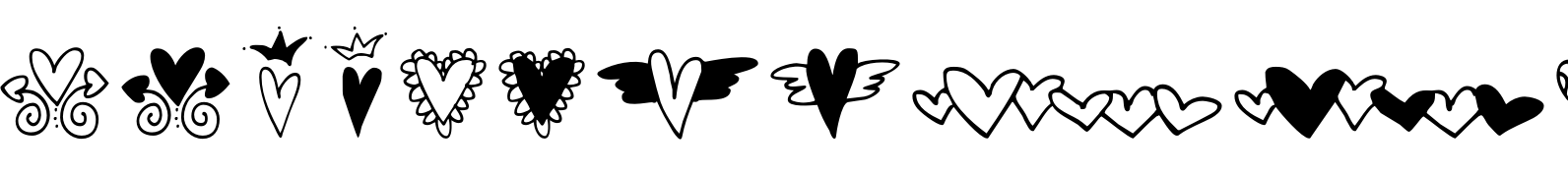 Hearts & Swirls Too