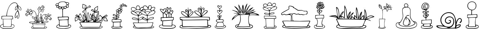 Just Flower Pots