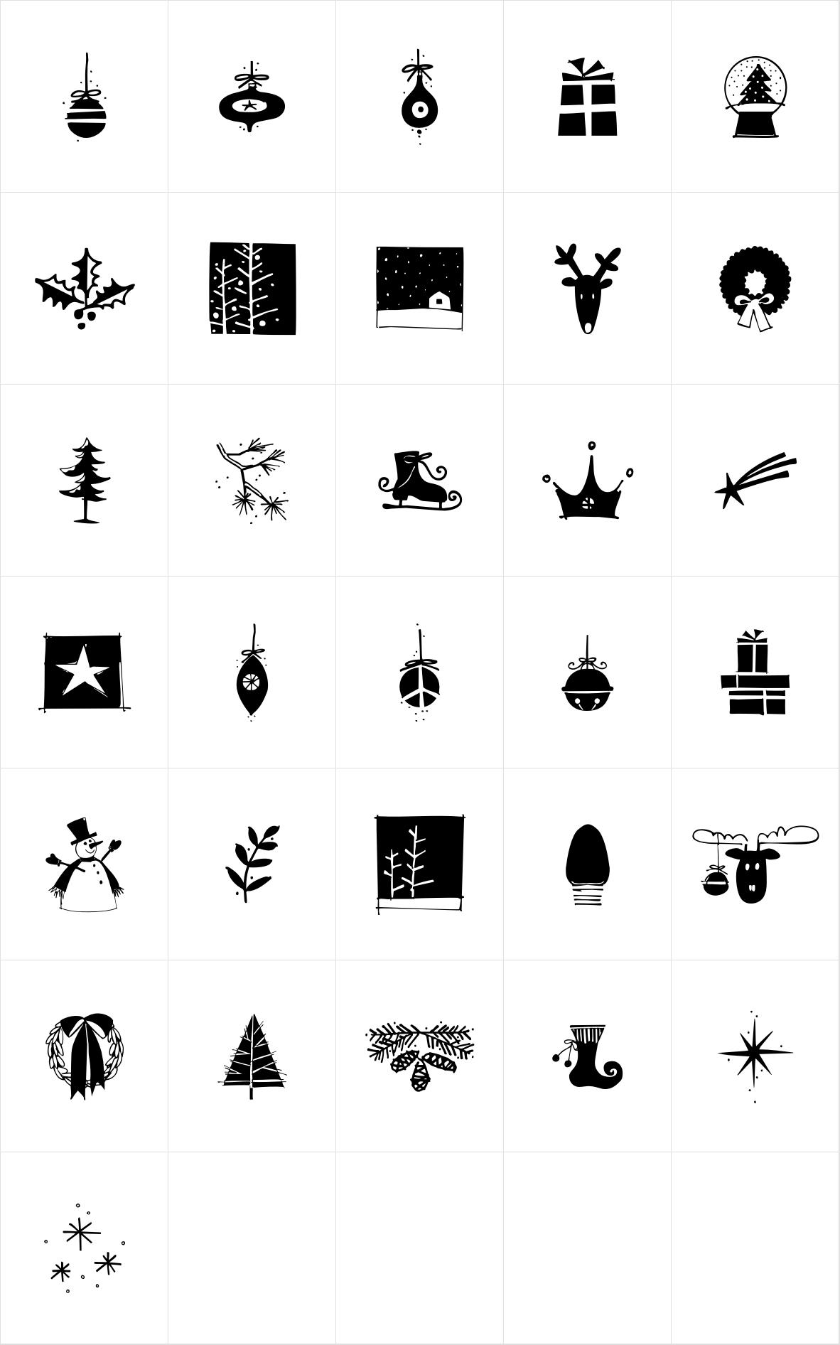 Yuletide Doodles