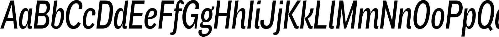 Air Compressed Medium Italic Font