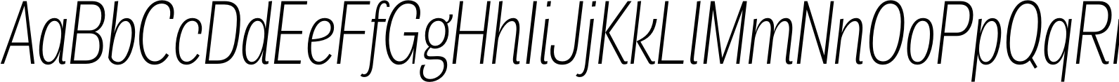Air Compressed Ultra Light Italic Font