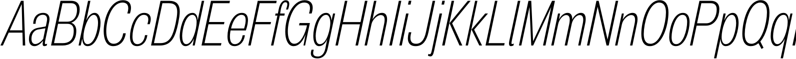 Air Compressed Ultra Light Oblique Font