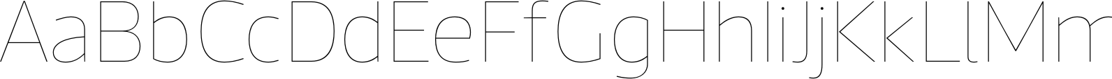 Acto Hairline Font