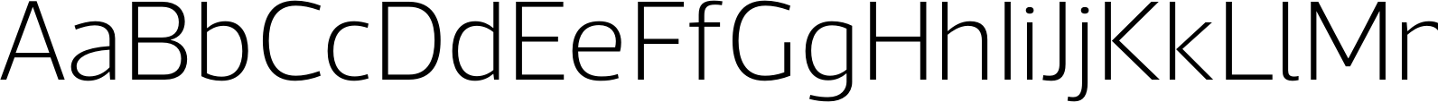 Acto UltraLight Font