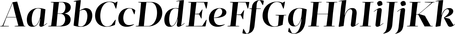 Mafra Display Medium Italic