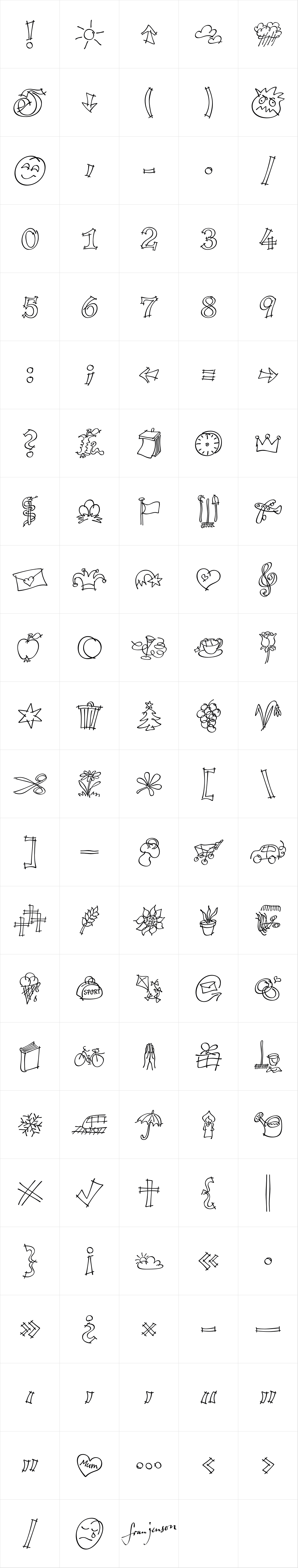 P22 Tulda Symbols