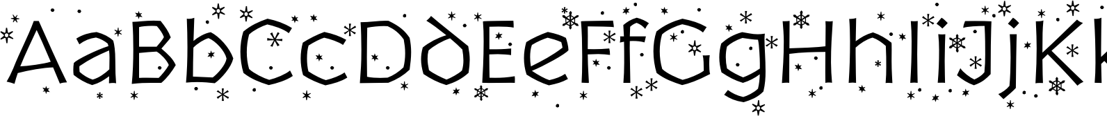 P22 Yule Light Flurries Font