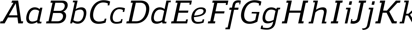 Regan Slab Medium Italic