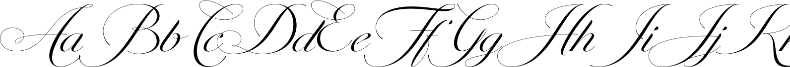 Penna Connected Font