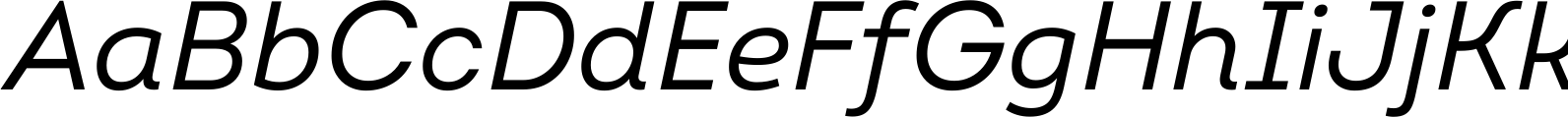 Intro Regular Italic Font