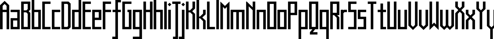Muzarela Semi condensed Regular Font